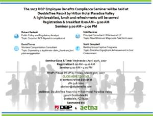 DBP Benefits Compliance Training