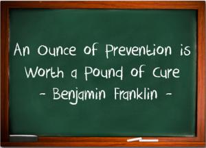 prevent problems