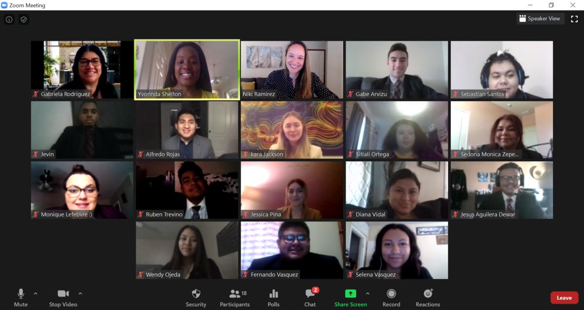 Team Meeting via Zoom