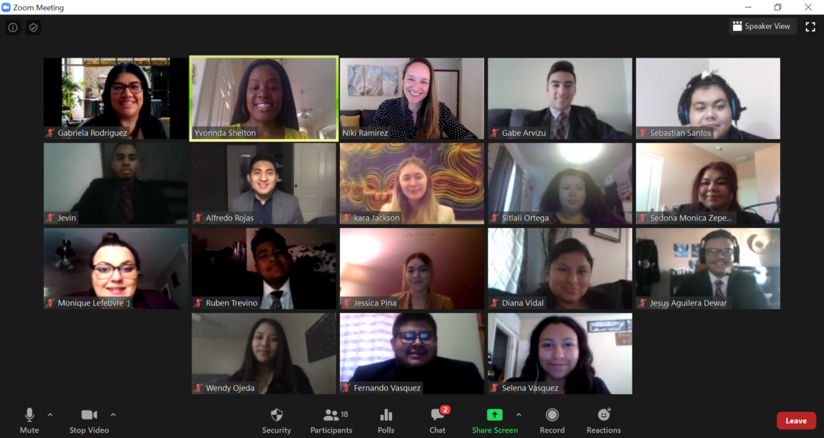 Team Meeting via Zoom